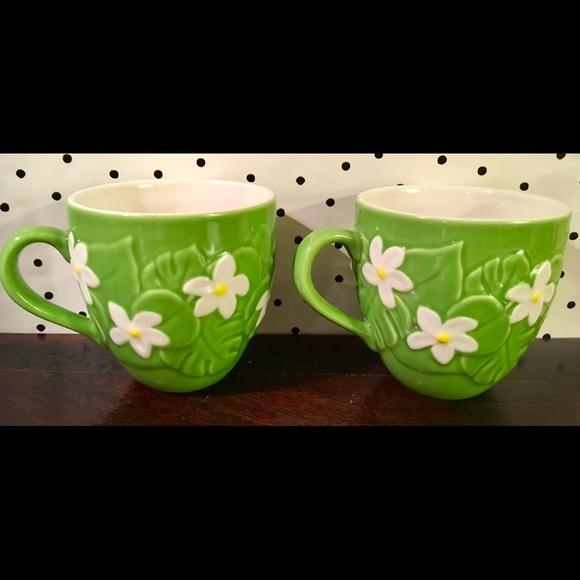 2 Starbucks 2006 rare coffee mugs cups vintage